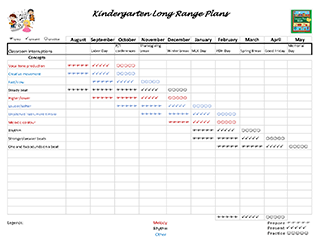 Need Help with Lesson Planning? Try these free Long Range Planning Templates!