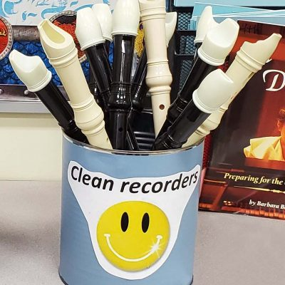 How to Handle All Those Recorders!