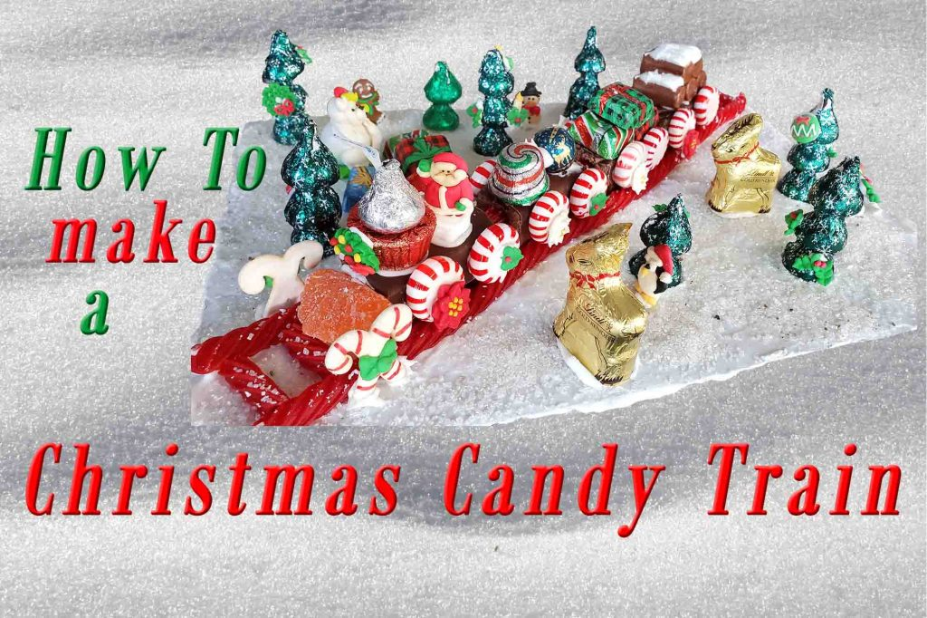 Christmas Candy Train activity